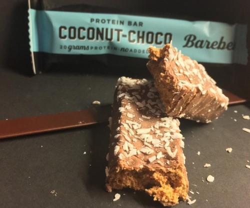 Barebells Proteinriegel Coconut-Choco Geschmack im Test